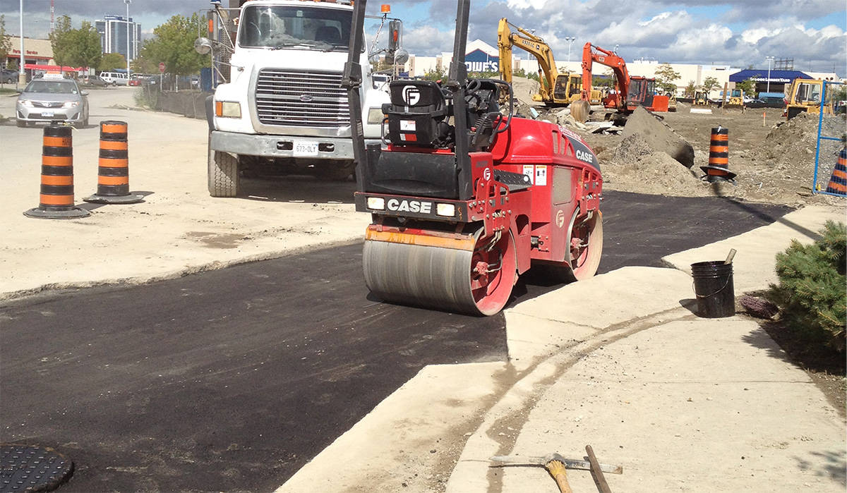 Asphalt Parking lot Restoration Paved TORONTO ontario 2107