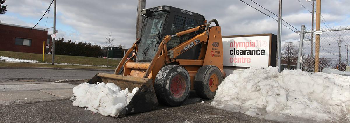 Snow Removal Bobat Future Paving