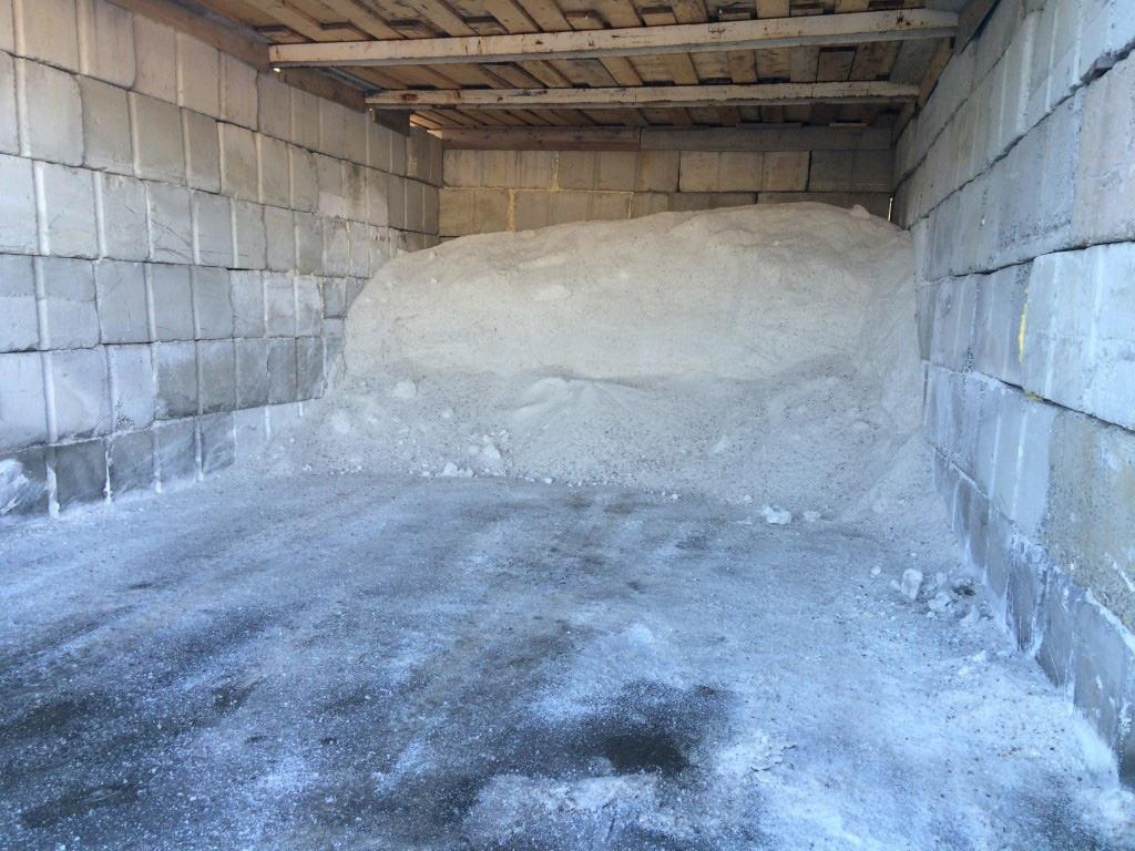Snow Removal Etobicoke Salt Depot