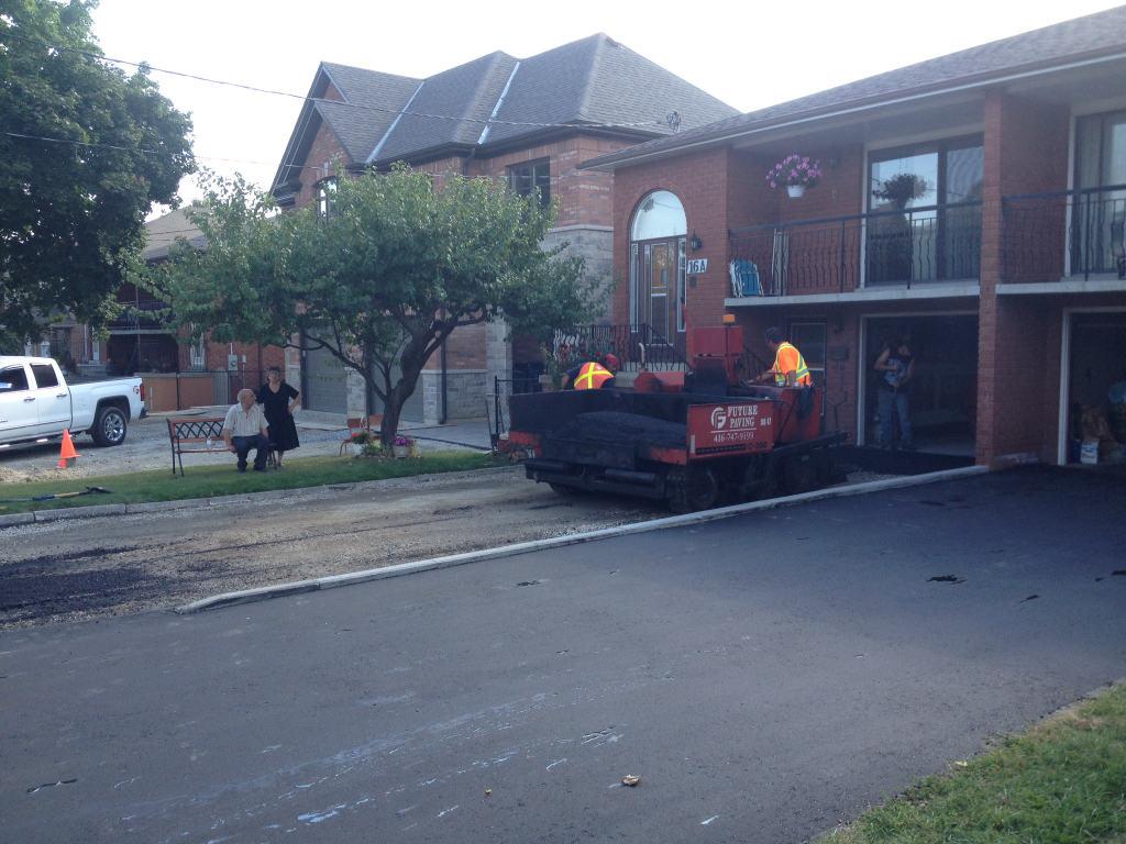 Paving Residential driveway Brampton