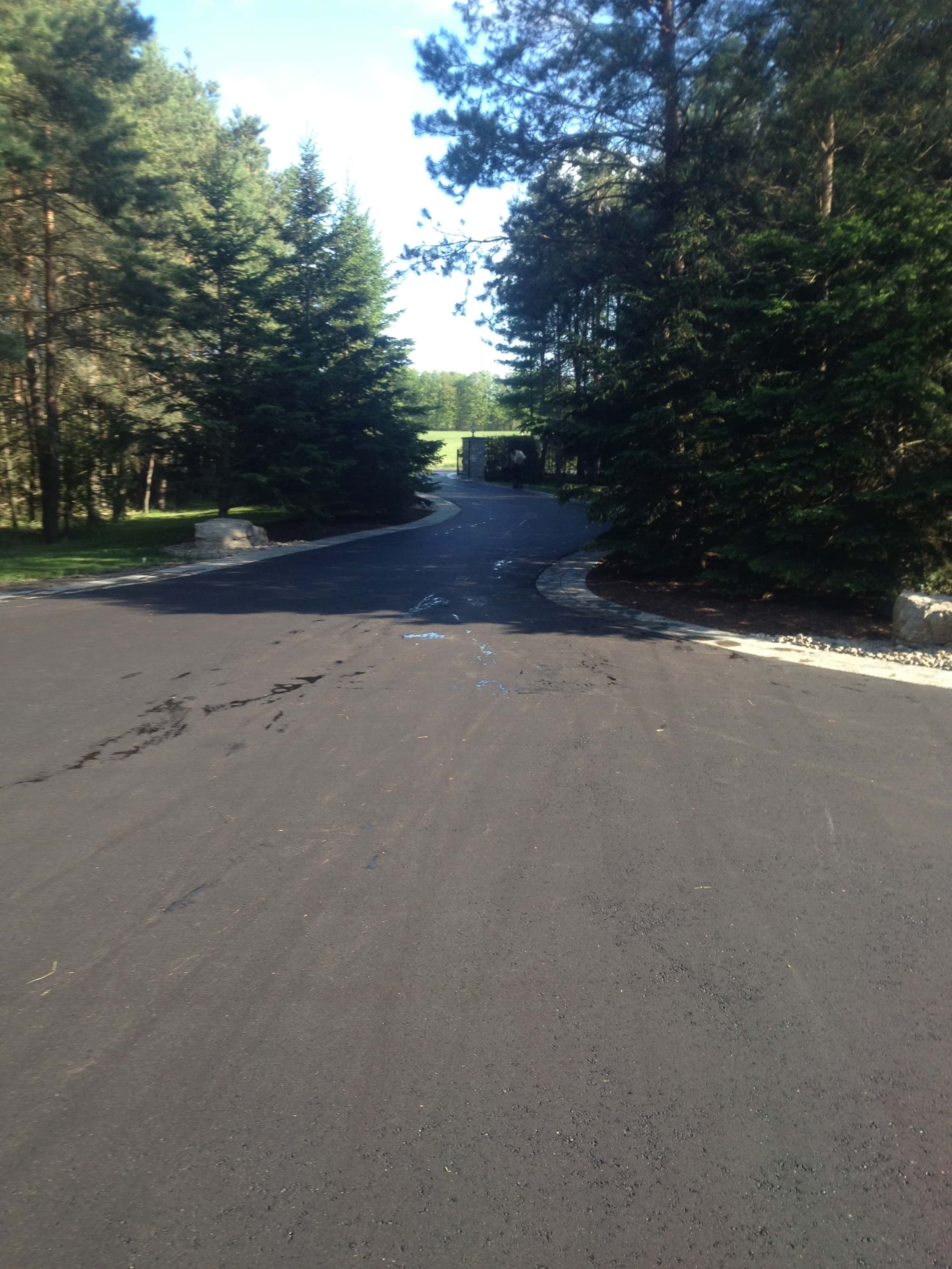 Asphalt Paving Private Driveway Mississauga