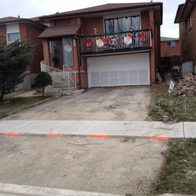 Paving Residential driveway Toronto