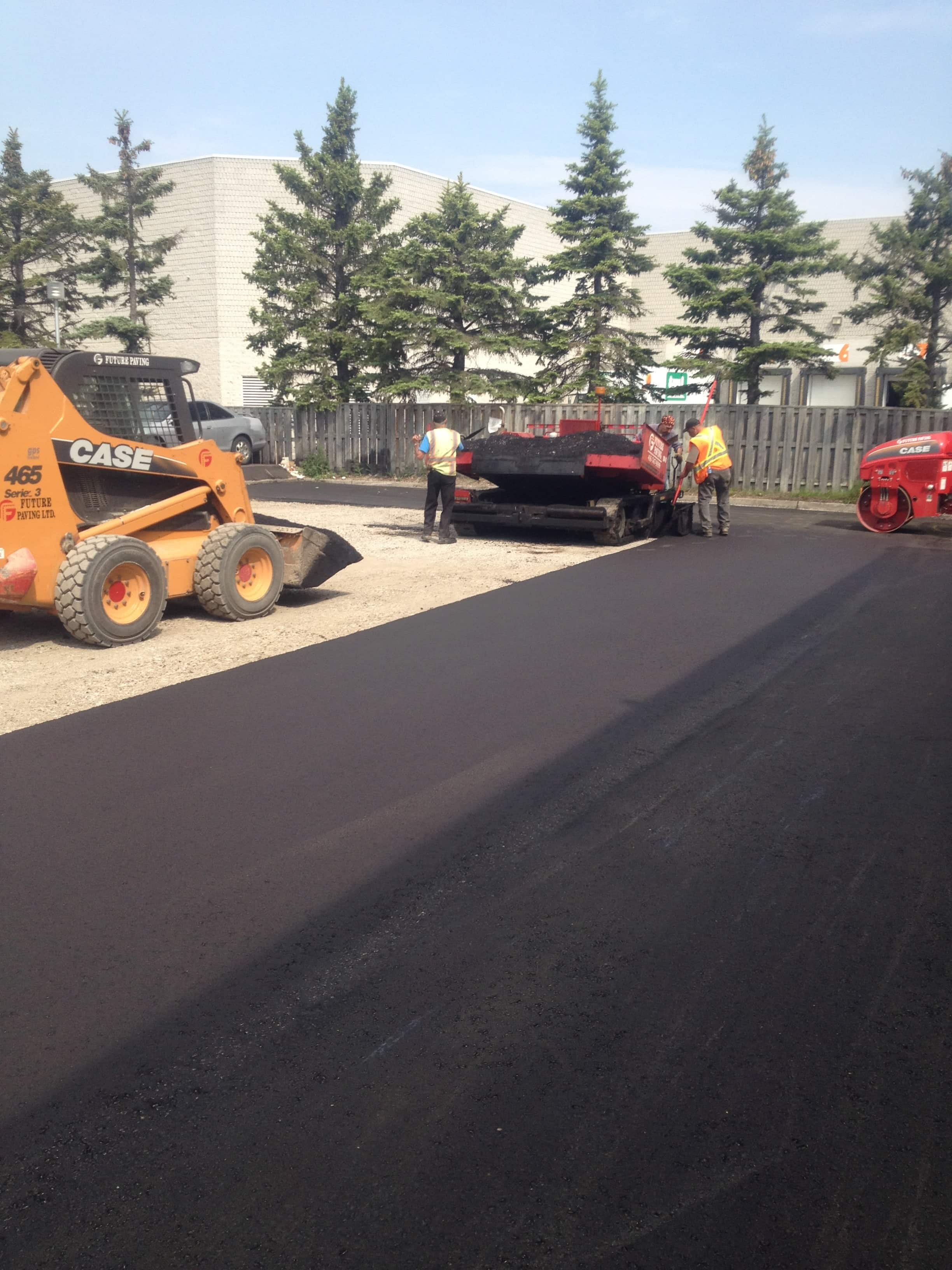 Asphalt Paving and speed bumps Parking Lot Mississauga