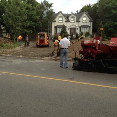 Asphalt Paving Driveway Remediation