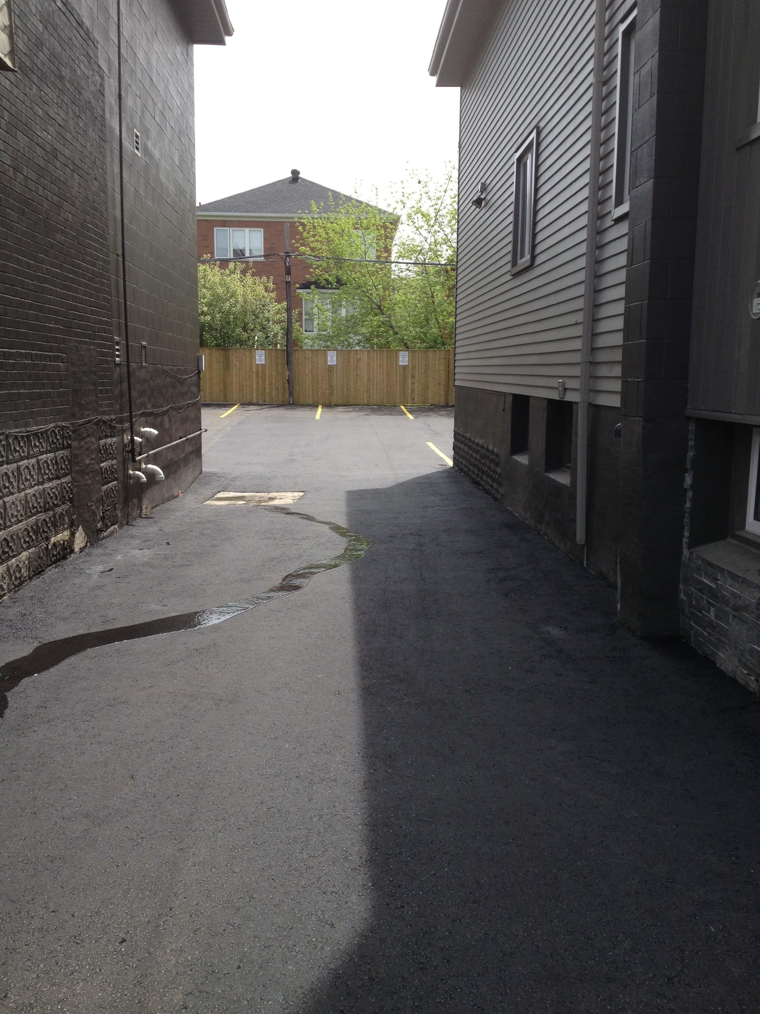 Asphalt Paving Private Laneway and Parking Lot Mississauga