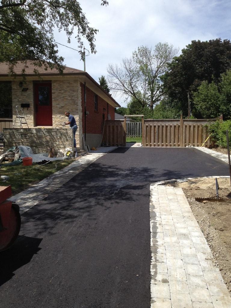 Paving Residential driveway Etobicoke