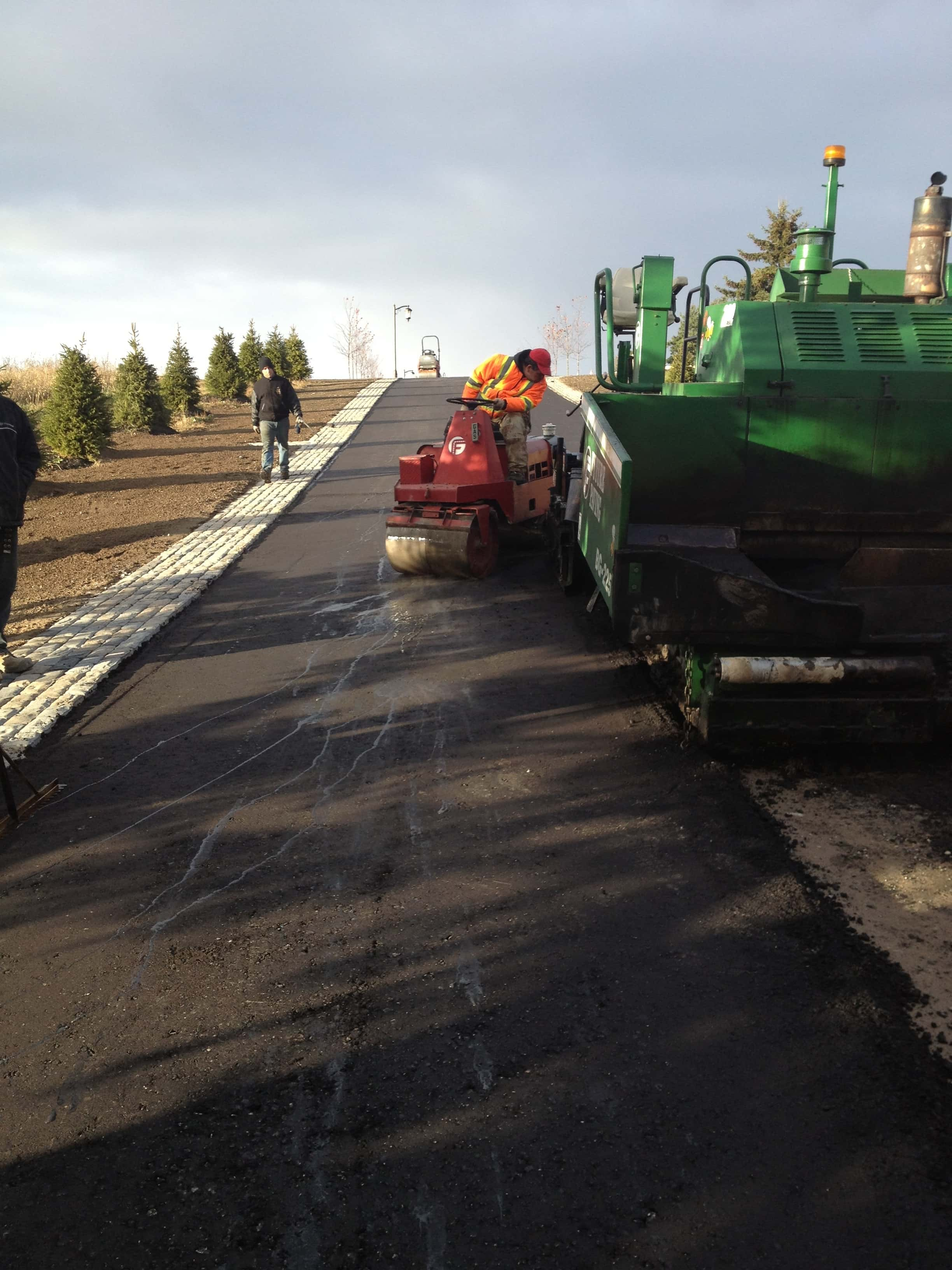 Paving Residential driveway King City