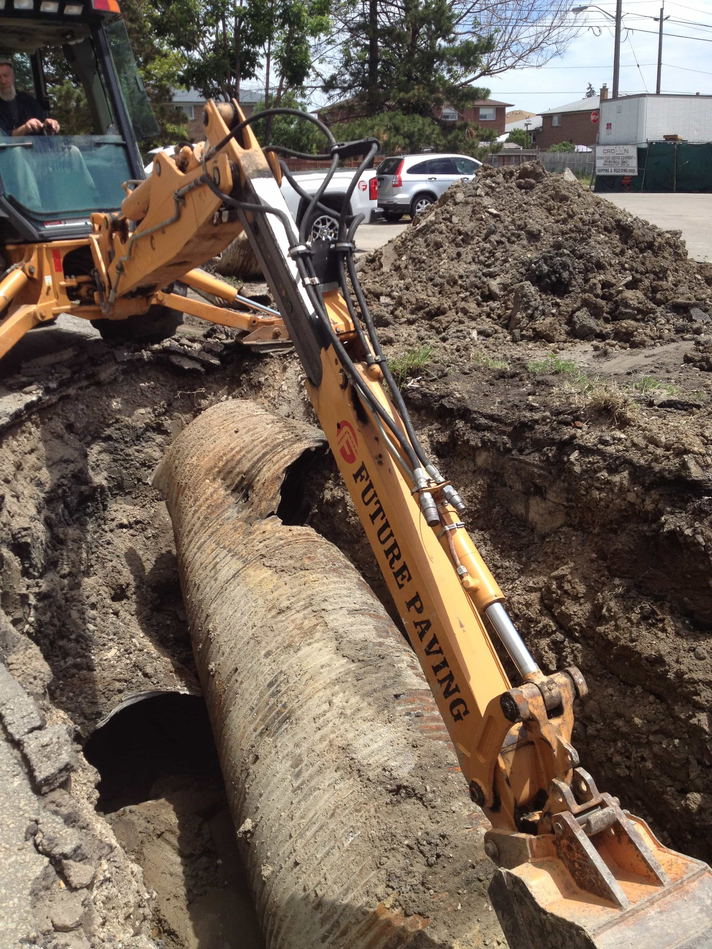 Catch Basin Sewer Repair GTA