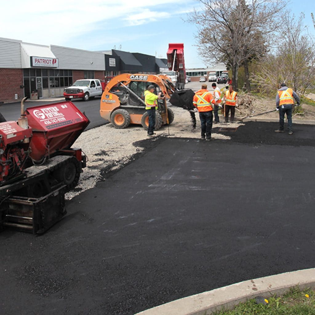 Asphalt Paving Parking Lot Company Toronto