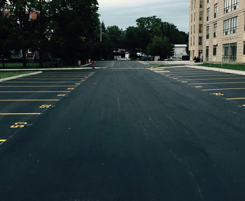 Toronto GTA Parking Lot Paving Future Paving complete
