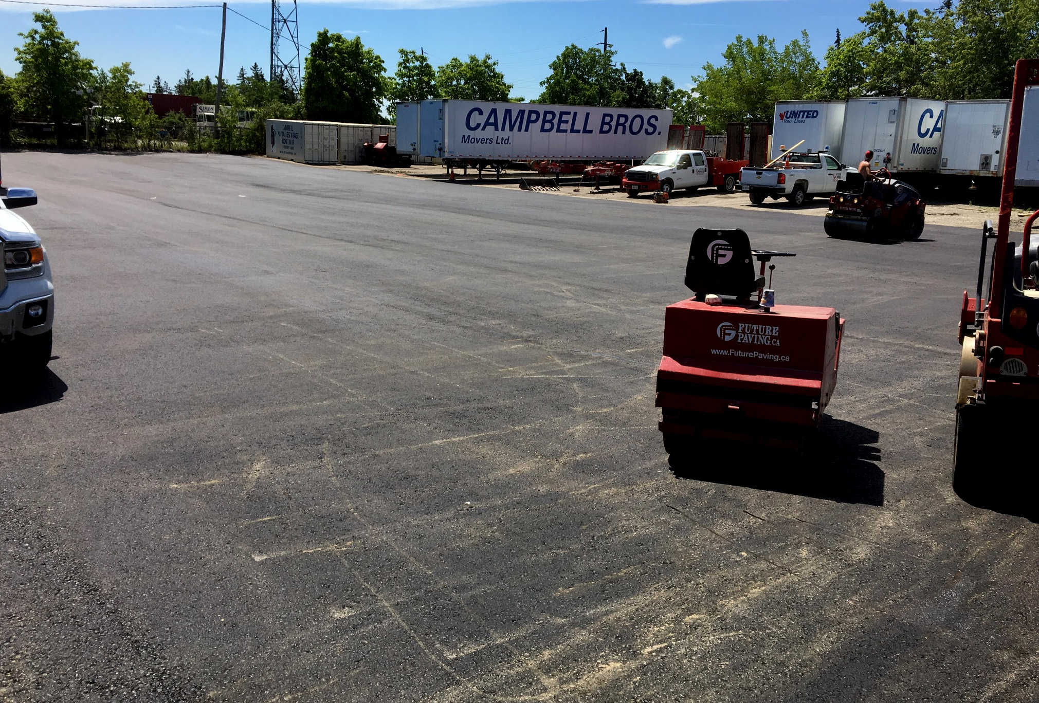 Asphalt Parking Lot Paving London Ontario