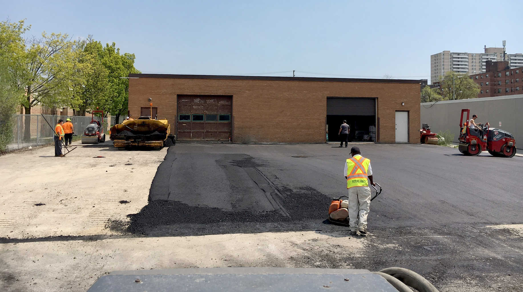 Asphalt Parking lot paving company toronto GTA Future Paving 2