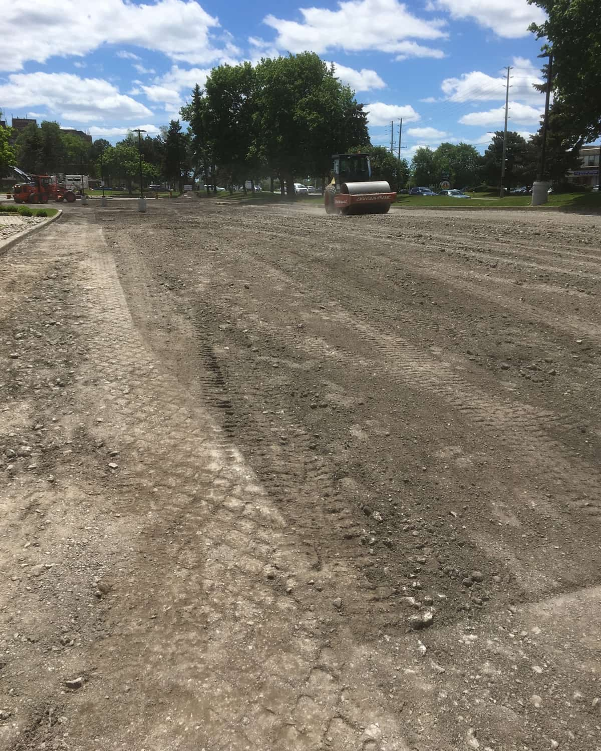 Asphlt Paving Company Future Paving Toronto compaction Mayfair