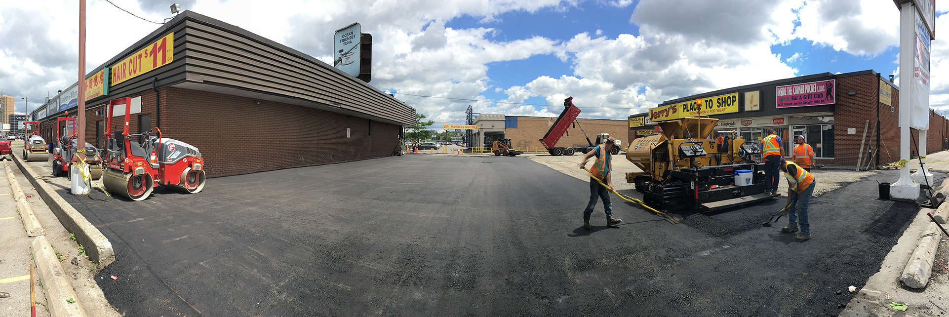 Paving Comany Future Paving Asphalt Parking Lot Jerry's