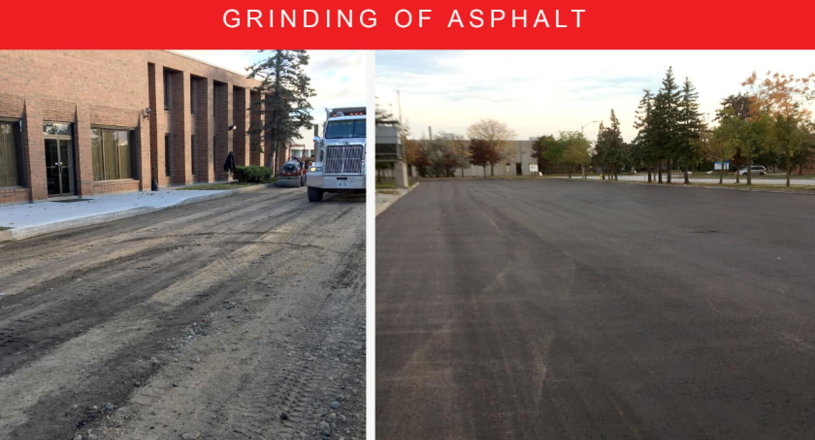 Asphalt Parking Lot Toronto Asphalt Grinding