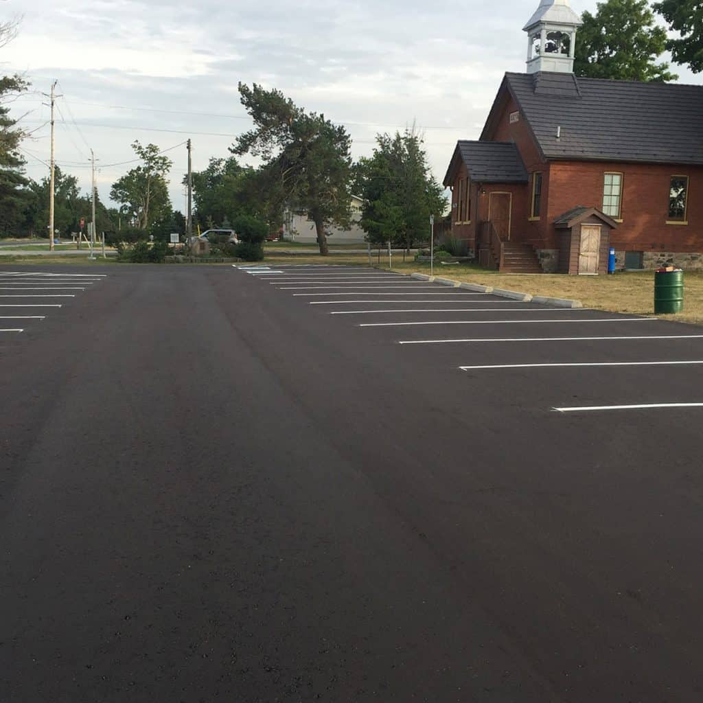 Commercial Parking Lot Asphalt Paving - Toronto GTA cost