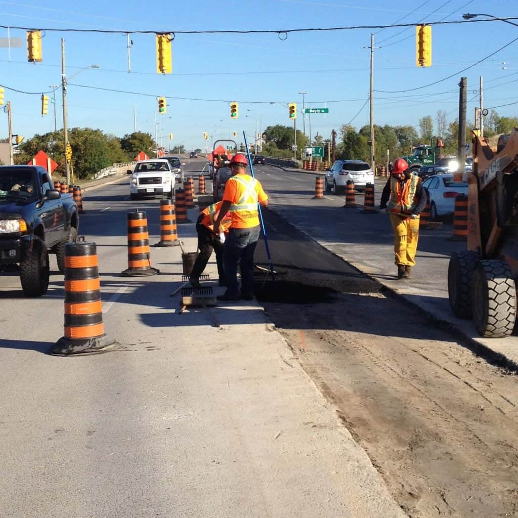 Future Paving Asphalt roadway repairs toronto