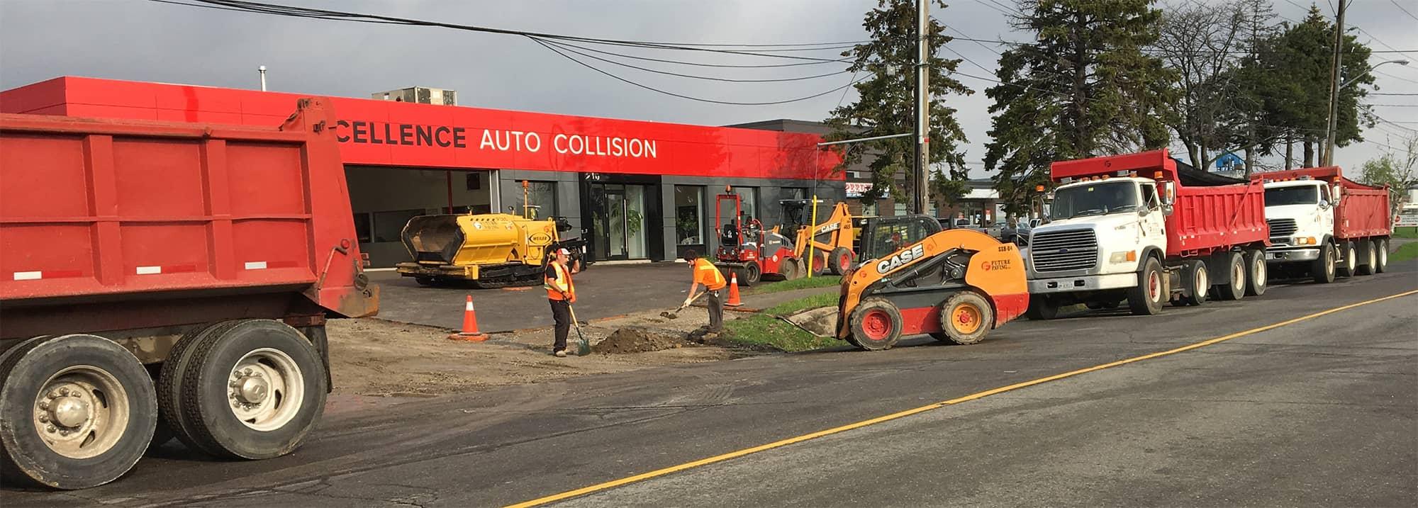 Asphalt Parking Lot Paving Company Toronto GTA Future Paving