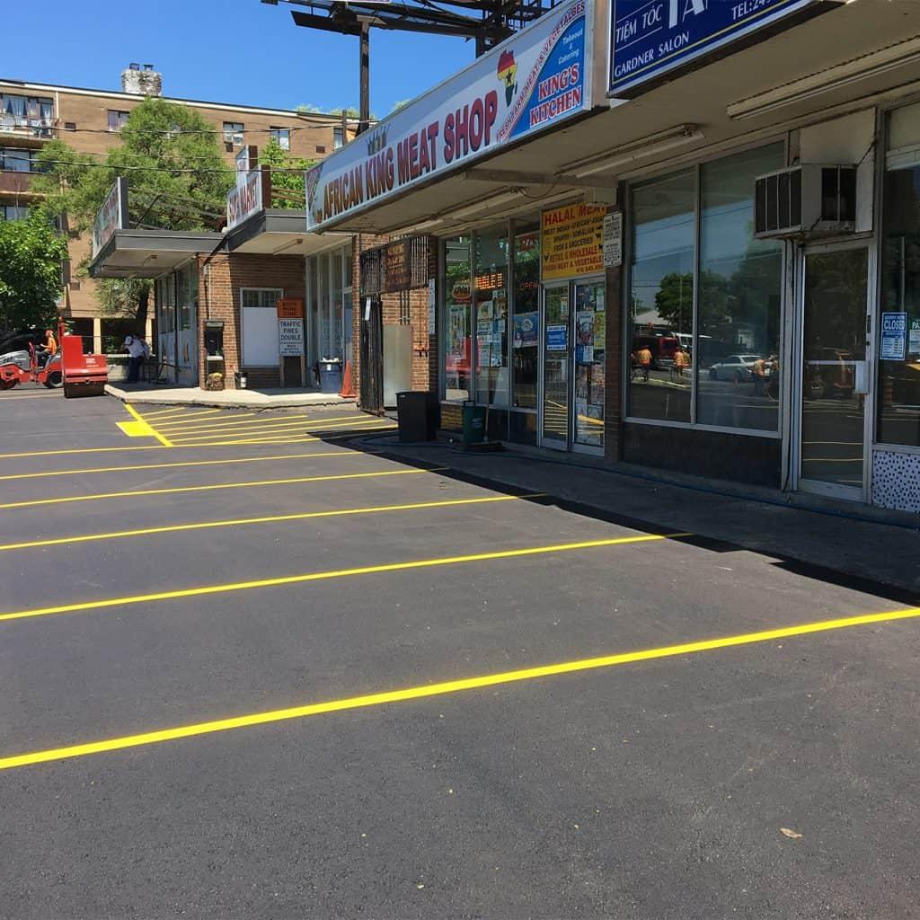 Jane Street Toronto GTA Asphalt Paving Company Future Paving