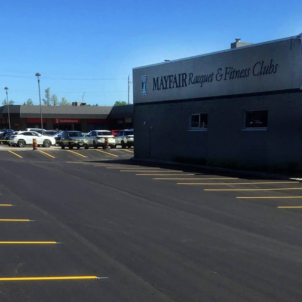 Commercial Asphalt Paving Parking Lot Company GTA Mayfair