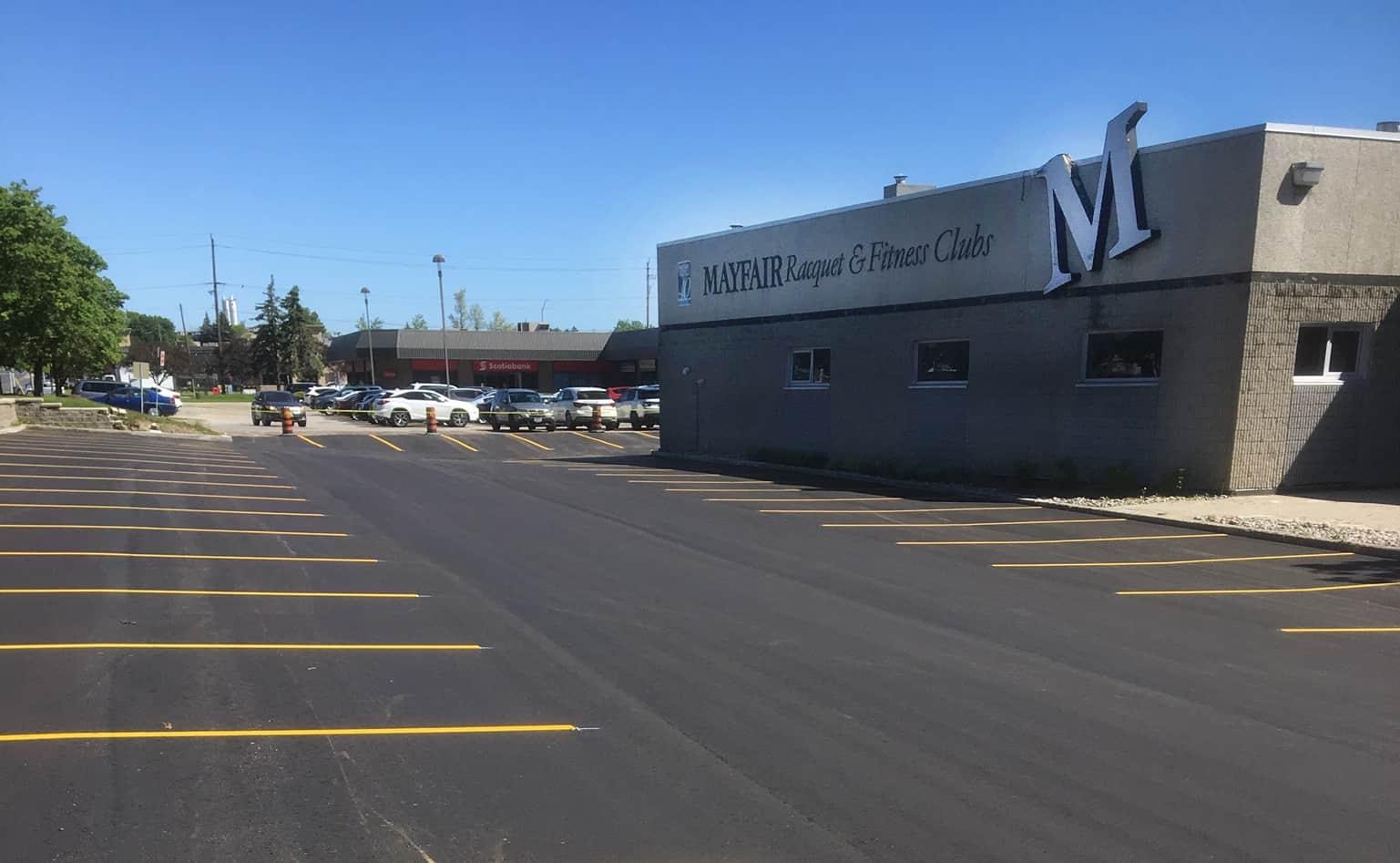 Company Paving Asphalt Comercial Parking Lots